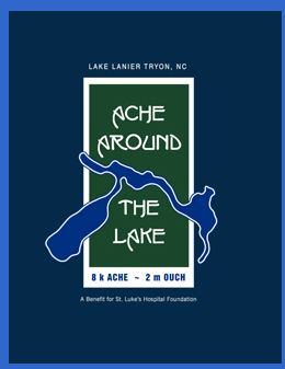 Ache Around the Lake 8k Race and 2 mile Race