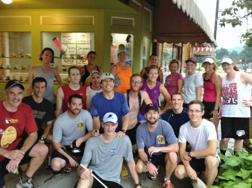 Black Mountain Running Company Posse - Easy to Spot Peter Ripmaster - Giant Smile in the Middle