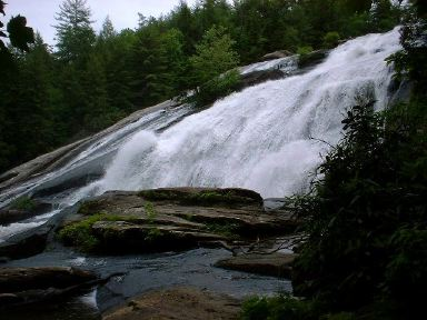 High Falls at DuPont State Forest