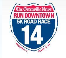 Greenville Run Downtown 5k Logo