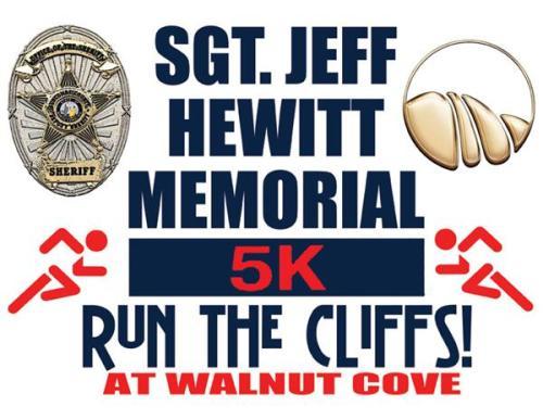 Jeff Hewitt Memorial 5k Logo