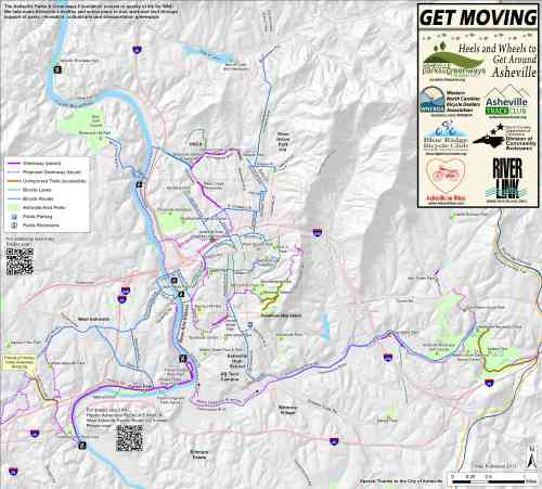 Map of Proposed Greenways (click for much larger image)