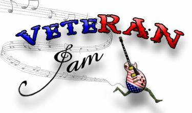 VeteRAN Jam 5k Logo