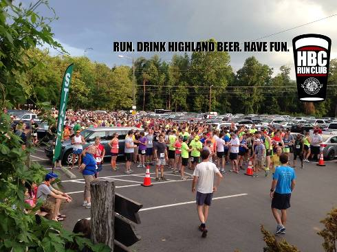 Highland Brewing Company Run Club