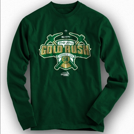 49er Gold Rush 5k Shirt