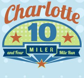 Charlotte 10 Miler and 4 Mile