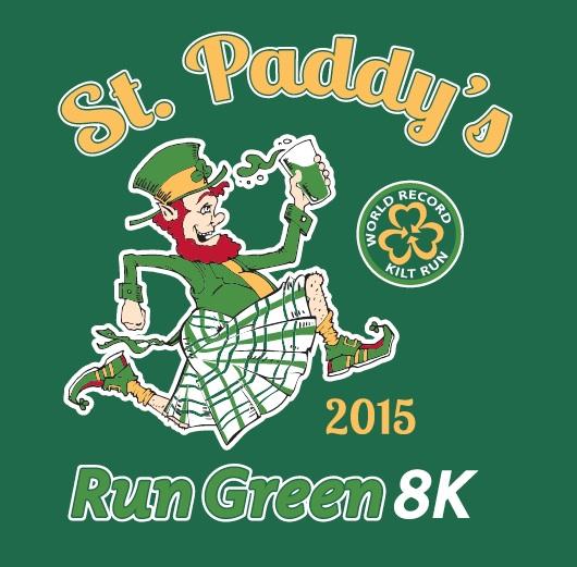 st paddys day run green
