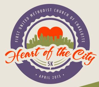 Heart of the City 5k April 18 2015 Charlotte NC
