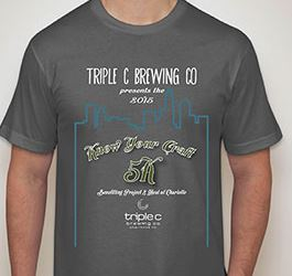 Results of the Know Your Craft 5k April 4 2015 Triple C Brewery Charlotte NC