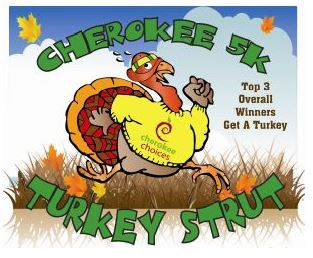 cherokee turkey strut