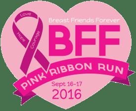 BFF PINK RIBBON RUN