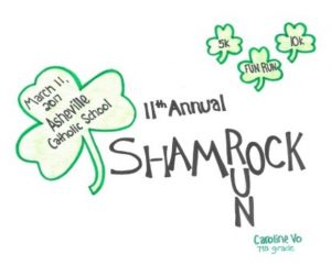AshevilleShamrock 5k and 10k 2017