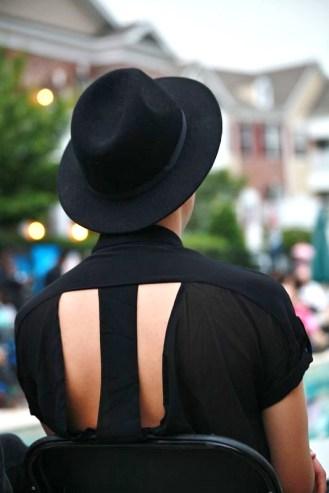 mens black hat