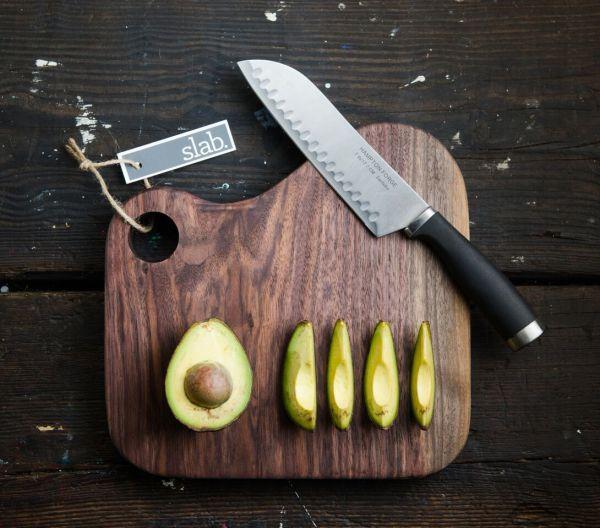 The Slab Guild-Original Cutting Board Black Walnut
