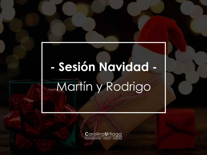 Navidad Martín y Rodrigo