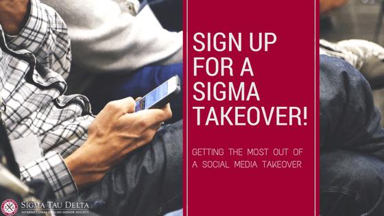 social media takeover