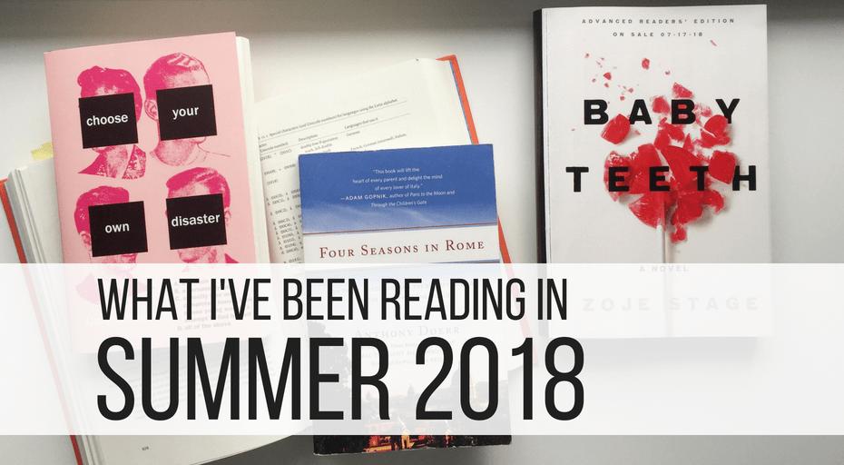 reading in summer 2018
