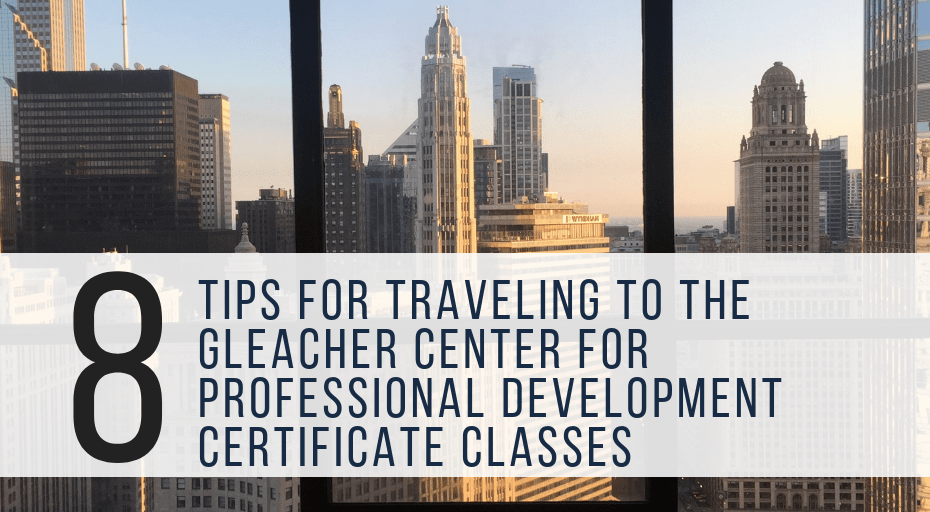 traveling to the gleacher center
