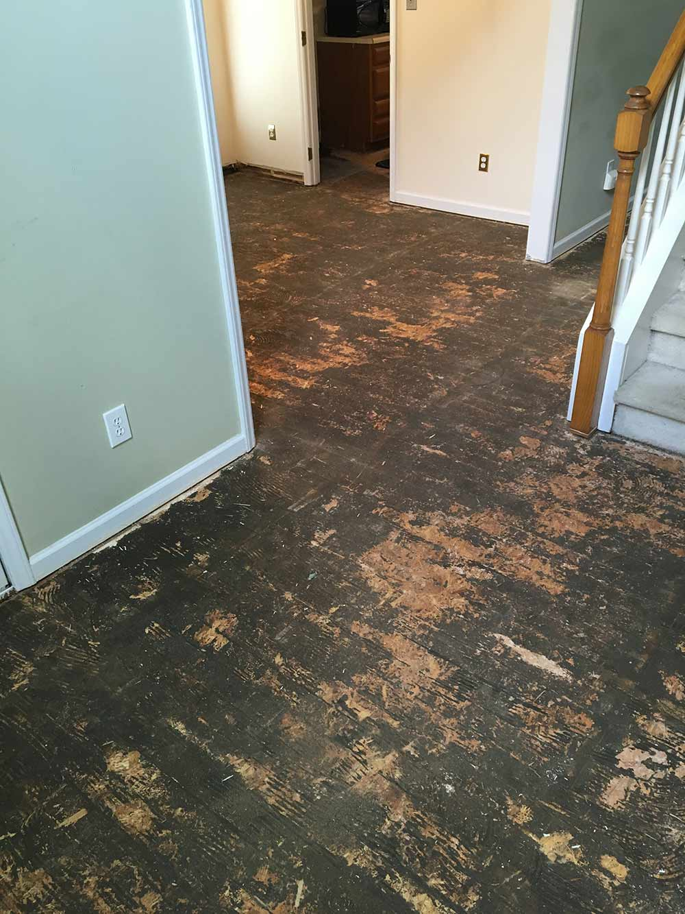 Leaking Pipe Water Damage Restoration in North Raleigh, NC 2