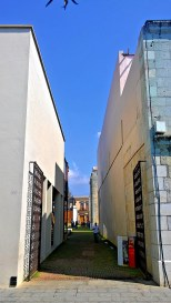 Alley access into San Pablo