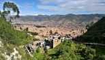 View down to Cusco
