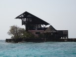 This tiny island is about 10 miles from the mainland and 30 miles from Cartagena.