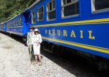 A train ride away from Aguas Calientes.