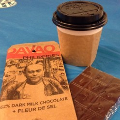 Really good chocolate & coffee keeps us going