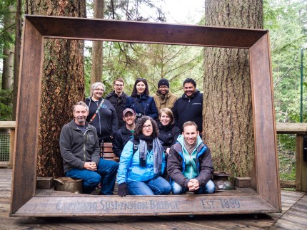 Theme Team in Vancouver! Photo by Tammie Lister