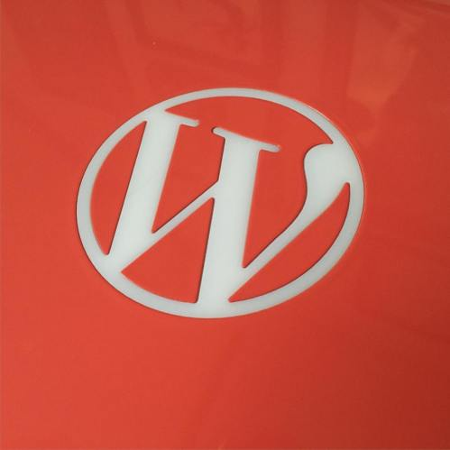 WordPress logo!