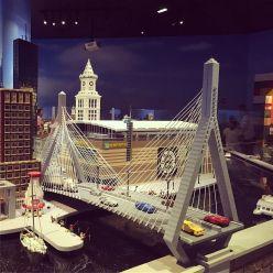 Bunker Hill Memorial bridge, LEGO version.