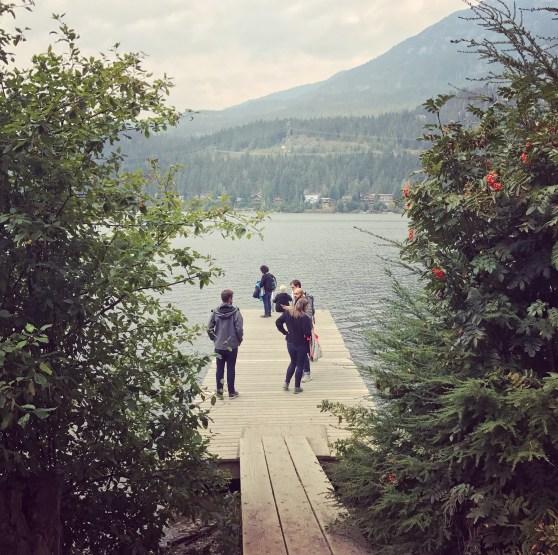 Checking out Alta Lake