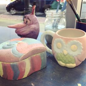 Ceramics painting in Fredericton, NB.