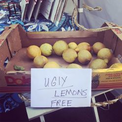 When life gives you ugly lemons, give them away.