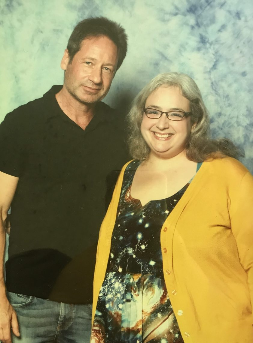 David freakin' Duchovny (and me)