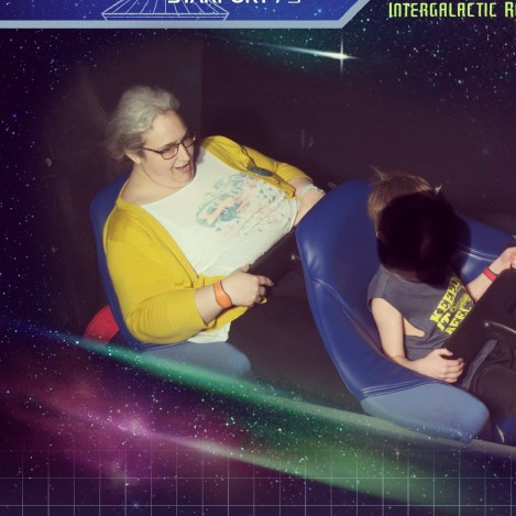 I conquered Space Mountain