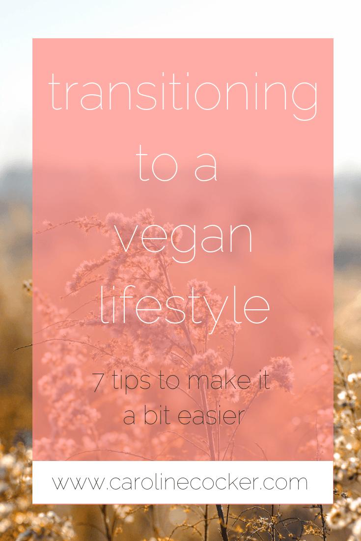 transitioning to a vegan lifestyle