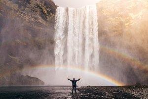Waterfall recharge