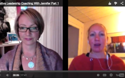 [VIDEO] Intuitive Leadership Coaching Session with Jennifer