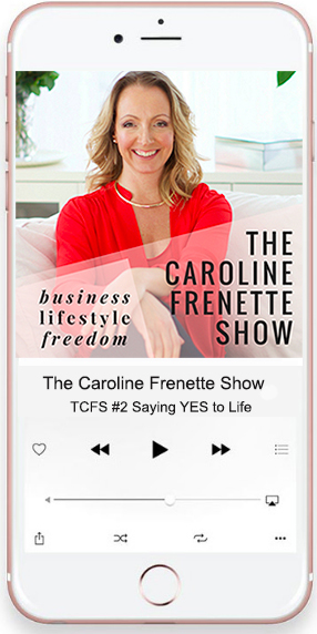 Podcasting The Caroline Frenette Show