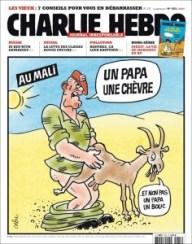 Charlie Hebdo - chèvre