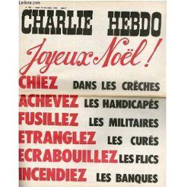 Charlie Hebdo - incitation à la haine