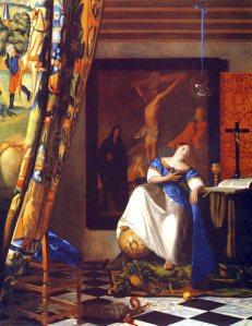 L'Allégorie de la Foi (1670-1674) par Johanne Vermeers (1632-1675). http://kerdonis.fr/ZJOHANNVERMEER/page35.html
