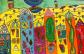 Hundertwasser art lesson