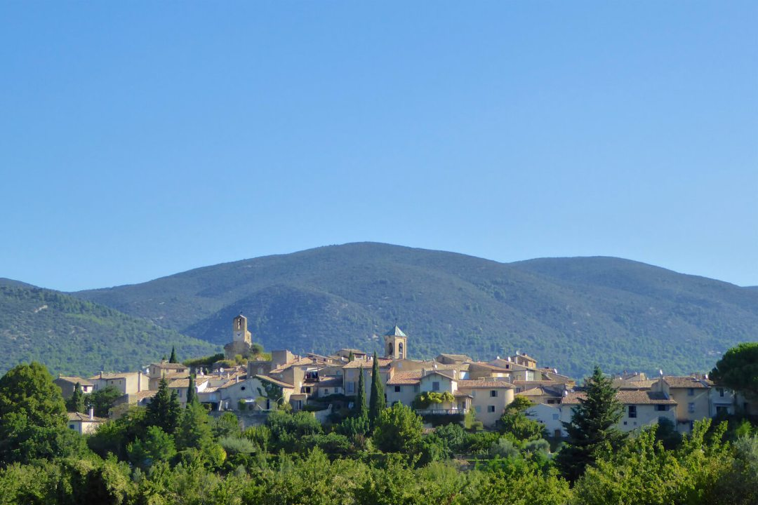 The Provencal village of Lourmarin