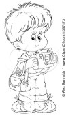 1057173-royalty-free-clip-art-illustration-of-a-coloring-page-outline-of-a-cute-boy-taking-pictures
