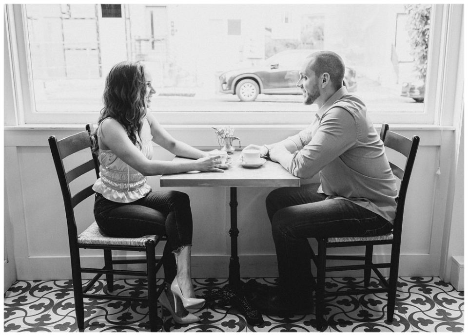 Suraya Fishtown Engagement | Caroline Morris Photography