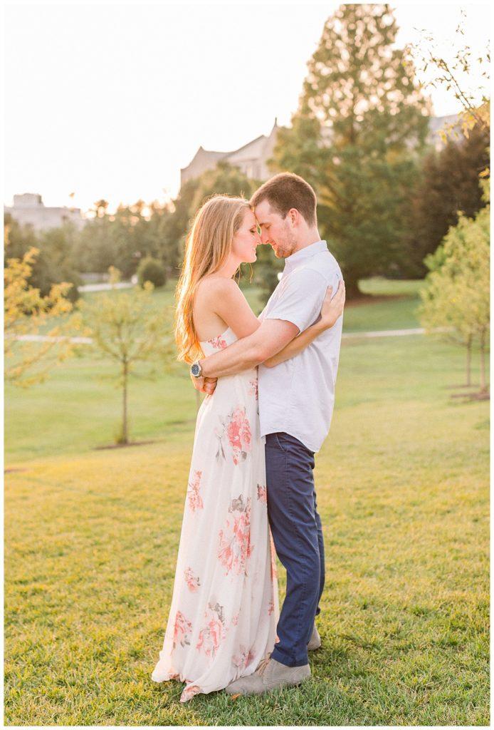 Villanova Engagement | Caroline Morris Photography