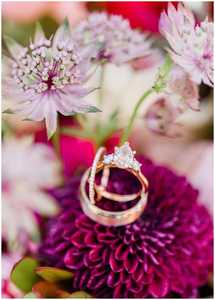 wedding ring at the Inn at Grace Winery