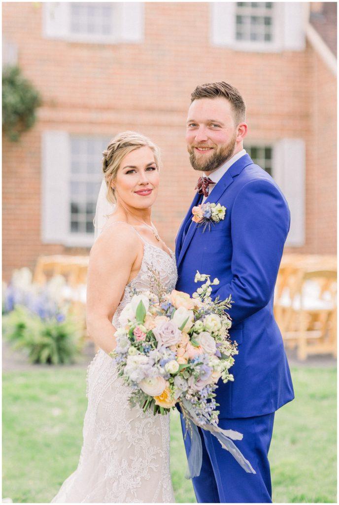 bride and groom at Phillipsburg, New Jersey Wedding